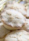 Традиционное великобританское рождество семенит пироги Стоковые Изображения RF