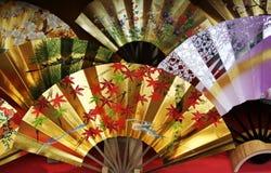 традиционное вентилятора японское Стоковая Фотография RF