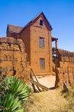 традиционное дома малагасийское Стоковые Изображения RF