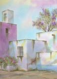 традиционное дома мексиканское Стоковое Фото