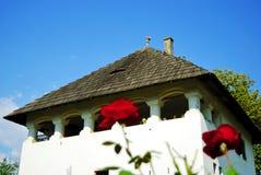 традиционное дома румынское Стоковая Фотография RF