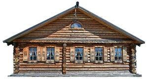 традиционное дома русское Стоковое Фото