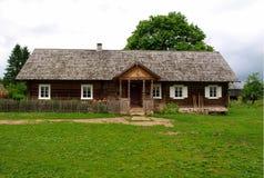традиционное дома сельское стоковое фото