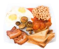 традиционное завтрака английское Стоковые Фотографии RF
