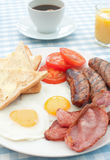 традиционное завтрака английское стоковое изображение