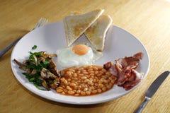 традиционное завтрака вкусное Стоковая Фотография