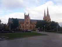 Традиционное здание на музее, Сиднее, Австралии стоковые изображения