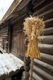 Традиционное зерно рождества для птиц Стоковое Фото