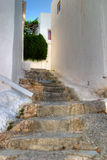 традиционное зодчества греческое стоковая фотография