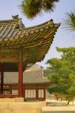 традиционное зодчества корейское Стоковые Фото