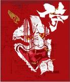 традиционное искусства японское иллюстрация вектора