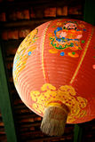 традиционное китайского фонарика красное Стоковые Фотографии RF