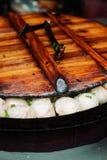традиционное китайского mantou shengjian Стоковое Изображение RF
