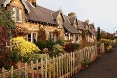 традиционное красивейших домов старое шотландское Стоковые Изображения