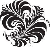 традиционное орнамента hohloma русское Стоковое Изображение