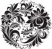 традиционное орнамента hohloma русское Стоковое фото RF