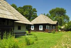 традиционное подлинных домов старое Стоковые Изображения