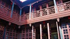 традиционное стародедовского зодчества китайское Стоковые Фото