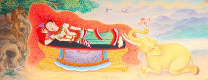 традиционное типа искусства тайское Стоковые Фотографии RF