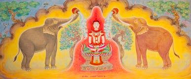 традиционное типа искусства тайское Стоковое Изображение