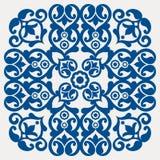 традиционное украшения флористическое Стоковая Фотография RF