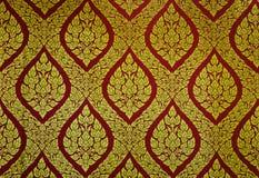 традиционное флористической картины тайское Стоковые Изображения RF
