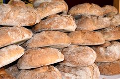 традиционное хлеба круглое Стоковое Фото