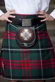 Традиционное шотландское обмундирование Стоковое фото RF