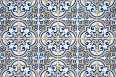 традиционное azulejos португальское Стоковое Изображение RF
