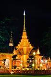 традиционное crematorium королевское тайское стоковые фотографии rf