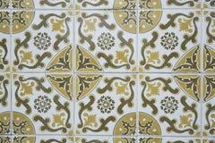 Традиционные богато украшенные португальские декоративные плитки иллюстрация вектора