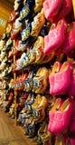 Традиционные ботинки Голландии деревянные стоковые фотографии rf