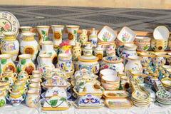 традиционные вазы Стоковая Фотография RF