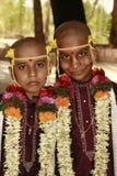 Традиционные индийские мальчики Стоковые Фото