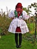 Традиционные костюмы в чехии стоковое фото rf