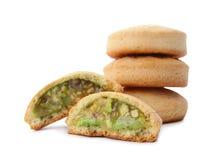 Традиционные печенья на исламские праздники изолированные на белизне стоковая фотография rf