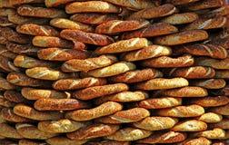 Традиционные турецкие кудрявые bagels сезама Стоковые Изображения