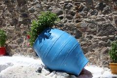 Традиционные цветы для греческого зодчества Стоковая Фотография