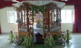 Традиционные mandapaya pirith & x28; chamber& x29; Стоковые Фото