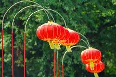 Традиционный азиатский фонарик для китайского события Стоковые Фотографии RF
