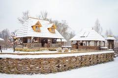 Традиционный деревянный дом Стоковые Фотографии RF
