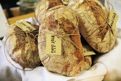 традиционный дом сделал чехословакский хлеб Стоковое Фото