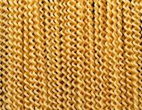 Традиционный дом сделал buco col lunghi fusilli макаронных изделий стоковая фотография rf
