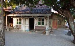 Традиционный дом Semarang стоковое изображение rf