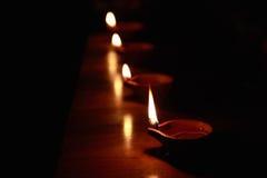 Традиционный индийский светильник масла стоковые изображения rf