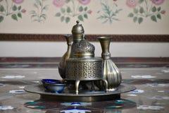 Традиционный индийский элегантный деталь кухни стоковое фото