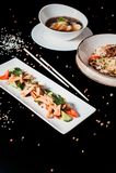 Традиционный корейский обедающий, комплект нескольких блюд Стоковое фото RF