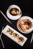 Традиционный корейский обедающий, комплект нескольких блюд Стоковое Фото
