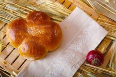 Традиционный крен хлеба Стоковые Изображения