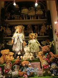 Традиционный магазин игрушки Стоковое Изображение RF